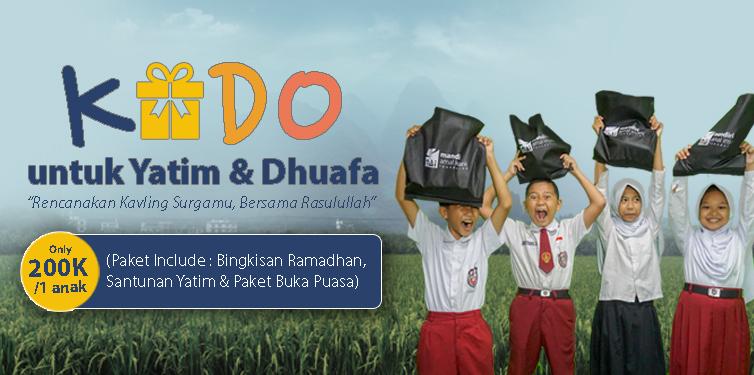 Kado Untuk Anak Yatim & Dhuafa