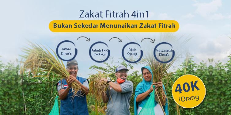 Zakat Fitrah 4 in 1