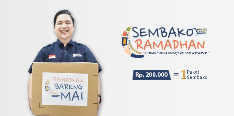 Berbagi Sembako Ramadhan