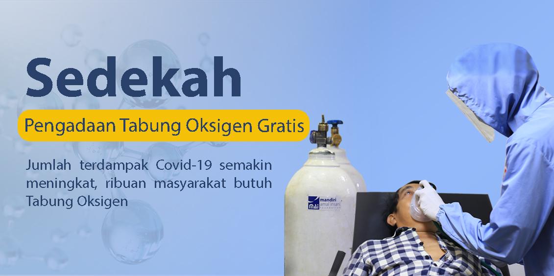 Bantu Pengadaan Tabung Oksigen